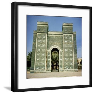 The Ishtar Gate, Babylonian, C.580 Bc--Framed Photographic Print