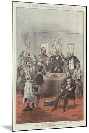 The People's Pecksniff-Tom Merry-Mounted Giclee Print