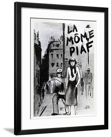 'La Mome Piaf', C.1950--Framed Photographic Print