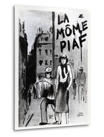 'La Mome Piaf', C.1950--Metal Print
