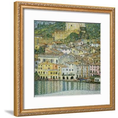 Malcesine, Lake Garda, 1913-Gustav Klimt-Framed Giclee Print