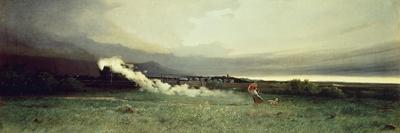 Railroad, 1870-Tammar Luxoro-Framed Giclee Print