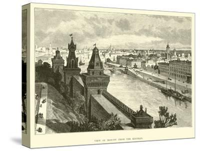 View of Moscow from the Kremlin--Stretched Canvas Print