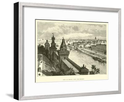 View of Moscow from the Kremlin--Framed Giclee Print