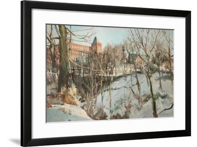 Springhead, Near Oldham-George Sykes-Framed Giclee Print