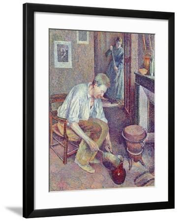 The Coffee, 1892-Maximilien Luce-Framed Giclee Print