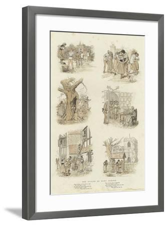 The Ballad of Dame Durden--Framed Giclee Print