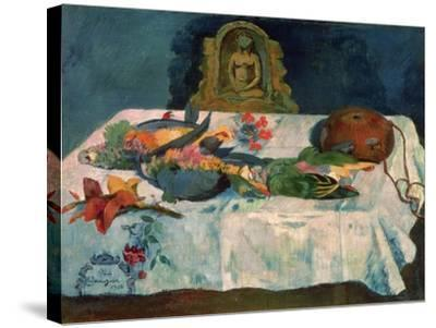 Still Life with Parrots, 1902-Paul Gauguin-Stretched Canvas Print