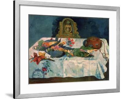 Still Life with Parrots, 1902-Paul Gauguin-Framed Giclee Print