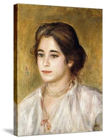 Gabrielle Au Collier, 1906-Pierre-Auguste Renoir-Stretched Canvas Print