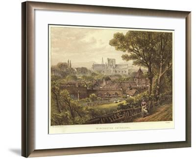 Winchester Cathedral in Winchester--Framed Giclee Print