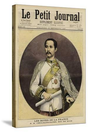 Chulalongkorn, King of Siam--Stretched Canvas Print