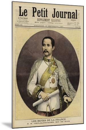 Chulalongkorn, King of Siam--Mounted Giclee Print