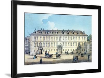 Wallenstein Palace, C.1830-Gustav Friedrich Amalius Taubert-Framed Giclee Print