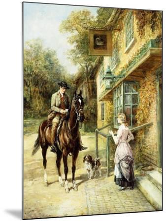 The Village Postman-Heywood Hardy-Mounted Giclee Print