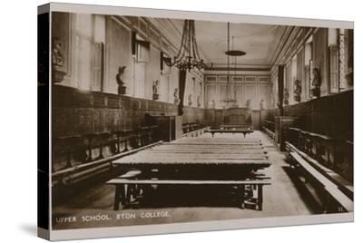 Upper School, Eton College--Stretched Canvas Print