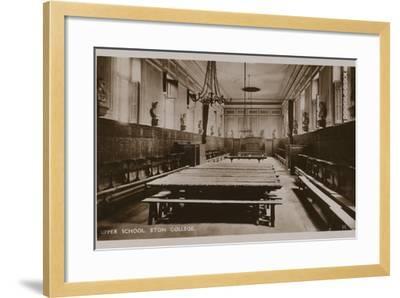 Upper School, Eton College--Framed Photographic Print