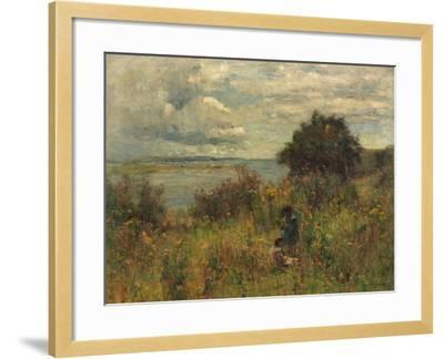 Summer Flowers, C.1913-Joshua Anderson Hague-Framed Giclee Print