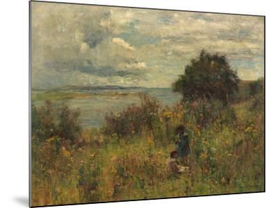 Summer Flowers, C.1913-Joshua Anderson Hague-Mounted Giclee Print