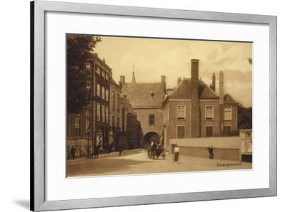 Postcard Depicting Gevangenpoort--Framed Photographic Print