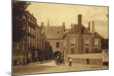 Postcard Depicting Gevangenpoort--Mounted Photographic Print
