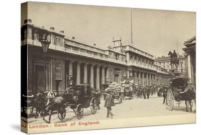 London: Bank of England--Stretched Canvas Print