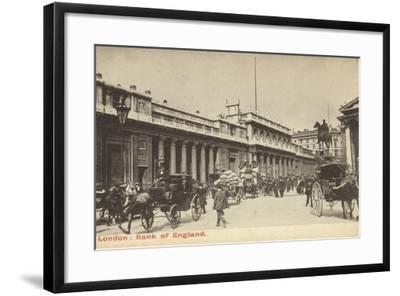 London: Bank of England--Framed Photographic Print