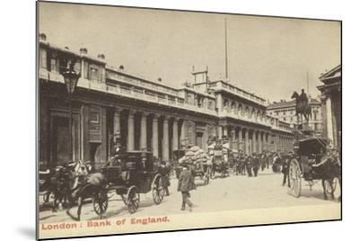 London: Bank of England--Mounted Photographic Print
