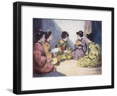 Butterflies-Mortimer Ludington Menpes-Framed Giclee Print