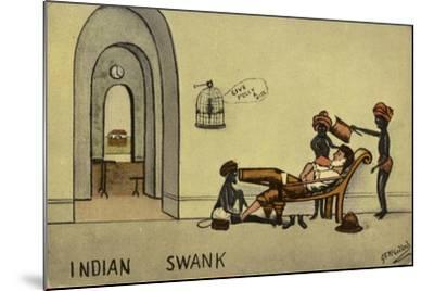 Indian Swank--Mounted Giclee Print