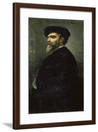 Self-Portrait-Saverio Francesco Altamura-Framed Giclee Print