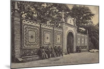 Queen's Gates; Palace Hotel, Bussaco, Portugal--Mounted Photographic Print