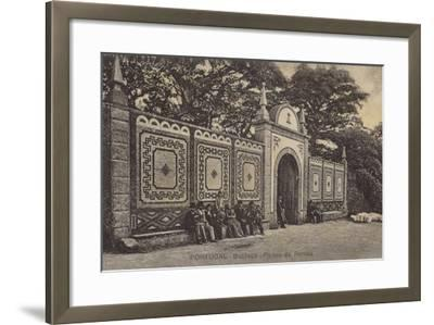 Queen's Gates; Palace Hotel, Bussaco, Portugal--Framed Photographic Print