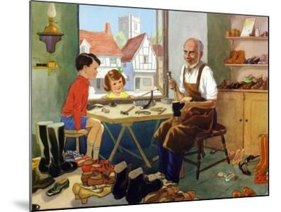 Illustration from a Children's Book, 1950s--Mounted Giclee Print