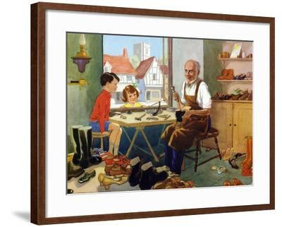 Illustration from a Children's Book, 1950s--Framed Giclee Print