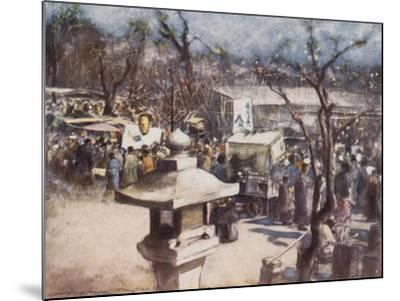 A Fete Day-Mortimer Ludington Menpes-Mounted Giclee Print