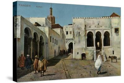 Kasbah, Tangier--Stretched Canvas Print