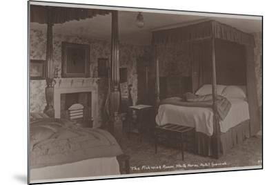 The Pickwick Room, White Horse Hotel, Ipswich--Mounted Photographic Print