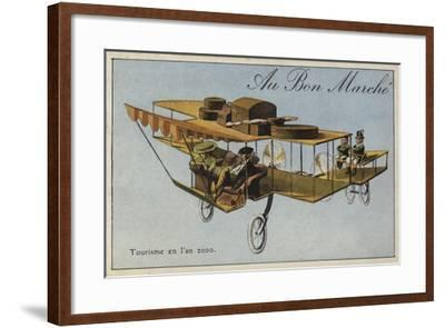 Tourism in the Year 2000--Framed Giclee Print