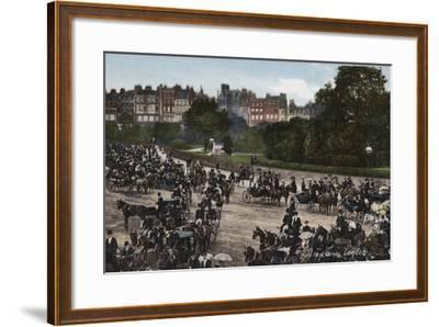 Hyde Park Corner, London--Framed Photographic Print
