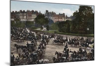 Hyde Park Corner, London--Mounted Photographic Print