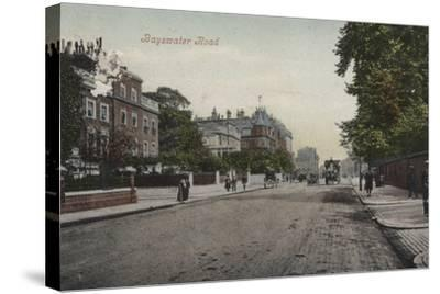 Bayswater Road--Stretched Canvas Print