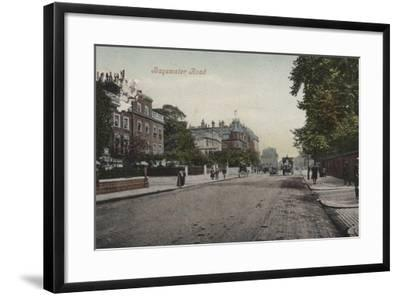 Bayswater Road--Framed Photographic Print