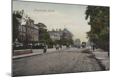Bayswater Road--Mounted Photographic Print