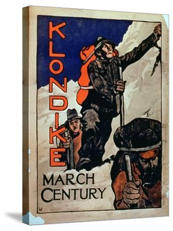 'Klondike March Century'--Stretched Canvas Print
