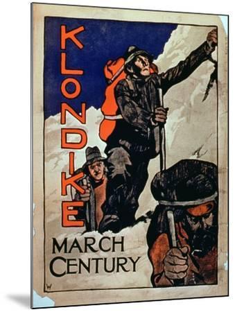 'Klondike March Century'--Mounted Giclee Print