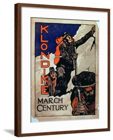 'Klondike March Century'--Framed Giclee Print