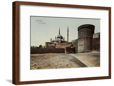 The Citadel, Cairo, Egypt--Framed Photographic Print