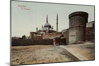 The Citadel, Cairo, Egypt--Mounted Photographic Print