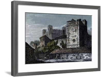 Rochester Castle, Kent--Framed Giclee Print
